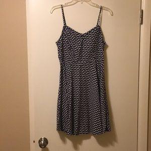 Old Navy black flair dress- New